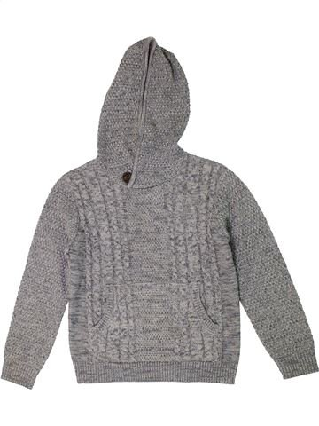 Pull garçon PRIMARK gris 10 ans hiver #1301394_1