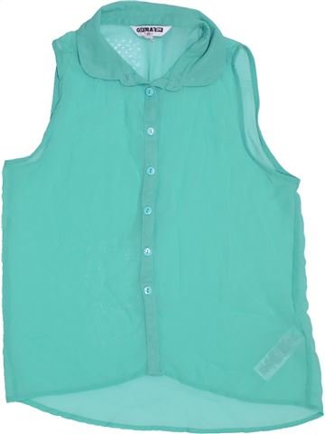 Blusa de manga corta niña NEW LOOK azul 12 años verano #1301469_1