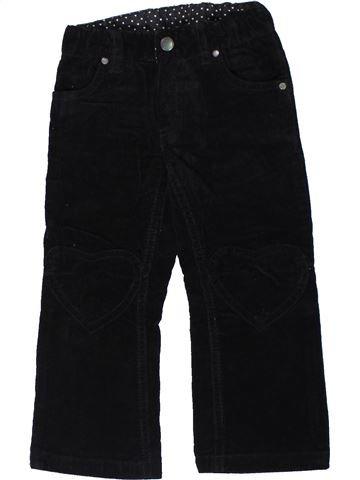 Pantalón niña H&M negro 3 años invierno #1301487_1