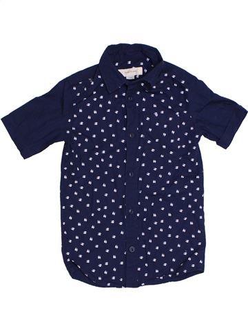Camisa de manga corta niño RIVER ISLAND azul 4 años verano #1301500_1