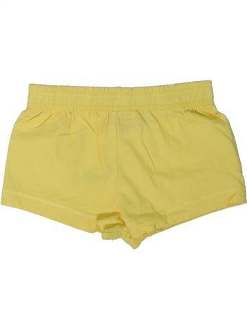 Short - Bermuda fille HARPER GIRL jaune 2 ans été #1301522_1