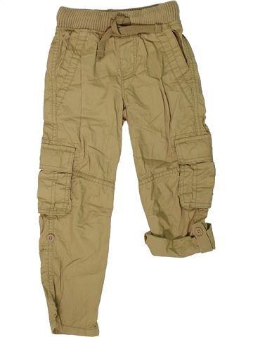 Pantalón niño MARKS & SPENCER marrón 4 años verano #1301584_1