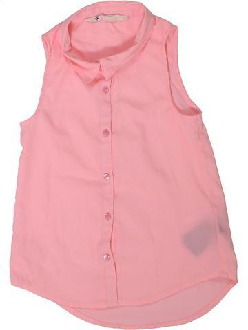 Blusa de manga corta niña H&M rosa 6 años verano #1301619_1
