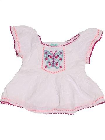 Blusa de manga corta niña MONSOON rosa 12 meses verano #1301874_1