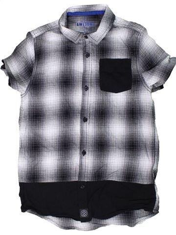 Camisa de manga corta niño F&F gris 11 años verano #1301885_1
