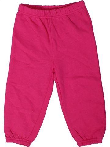 Pantalon fille ERGEE rose 2 ans hiver #1301911_1