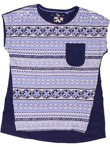 Camiseta de manga corta niña TU violeta 7 años verano #1302109_1