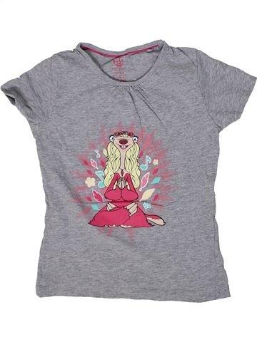 Camiseta de manga corta niña L'ÂGE DE GLACE gris 7 años verano #1302197_1