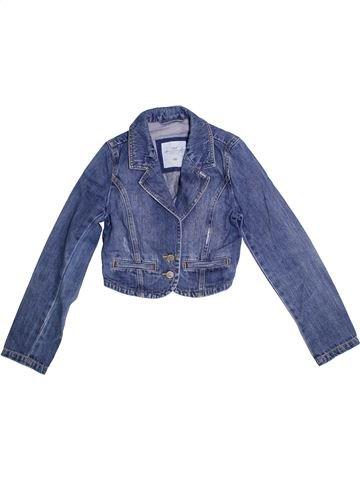 Veste fille H&M bleu 10 ans été #1302353_1