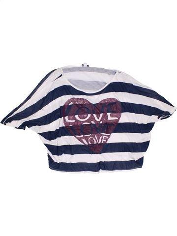 Camiseta de manga corta niña NEW LOOK azul 14 años verano #1302368_1