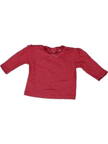Camiseta de manga larga niña F&F rojo 1 mes invierno #1302381_1