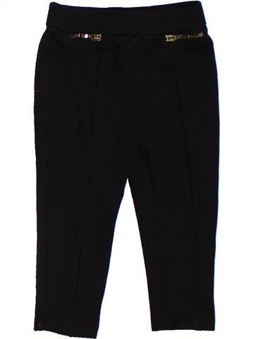Pantalón niña RIVER ISLAND negro 2 años invierno #1302450_1