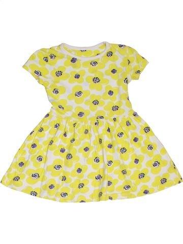 Robe fille DUNNES STORES jaune 4 ans été #1302472_1