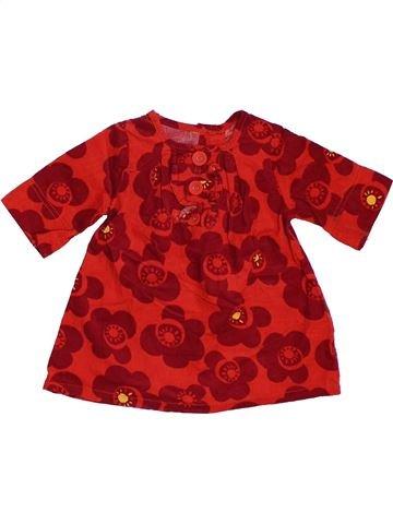 Vestido niña NEXT rojo 6 meses invierno #1302503_1