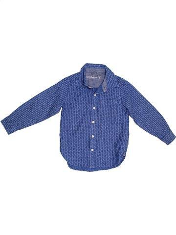 Chemise manches longues garçon GAP bleu 5 ans hiver #1302513_1