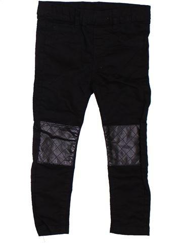 Pantalón niña H&M negro 3 años verano #1302557_1