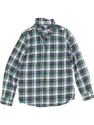 Camisa de manga larga niño MARKS & SPENCER gris 10 años invierno #1302578_1