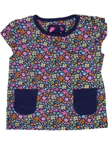 Camiseta de manga corta niña TU gris 12 meses verano #1302607_1