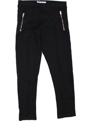 Pantalón niña MARKS & SPENCER negro 10 años invierno #1302660_1