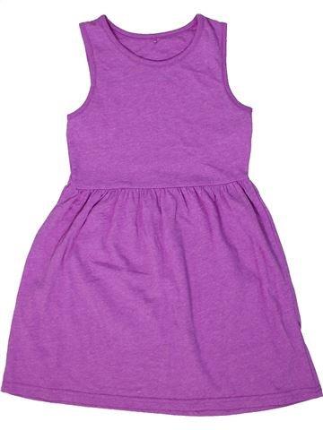 Robe fille GEORGE violet 6 ans été #1302685_1