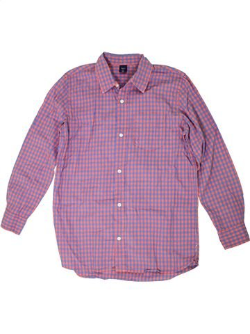 Camisa de manga larga niño GAP violeta 13 años invierno #1302726_1