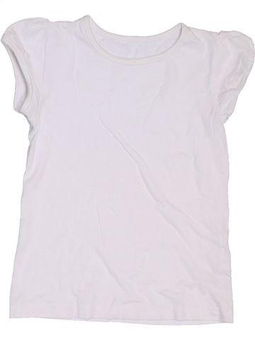 Camiseta de manga corta niña GEORGE blanco 7 años verano #1302775_1