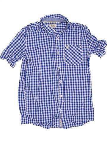 Chemise manches courtes garçon PENGUIN bleu 14 ans été #1302792_1