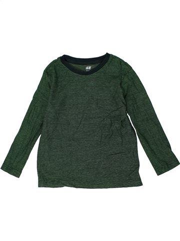 Camiseta de manga larga niño H&M azul 4 años invierno #1302831_1
