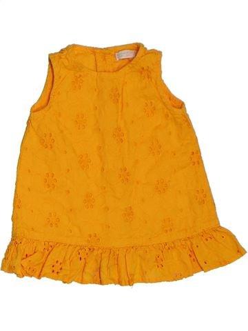 Vestido niña BHS naranja 6 meses verano #1302896_1