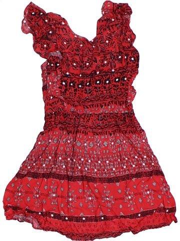 Vestido niña TU rojo 4 años verano #1302902_1