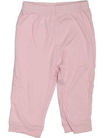 Pantalón niña GEORGE rosa 12 meses verano #1302987_1