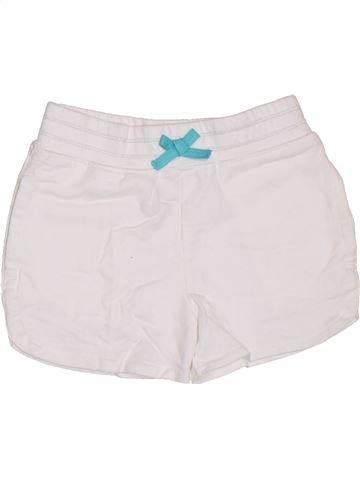 Short-Bermudas niña GEORGE blanco 5 años verano #1303009_1