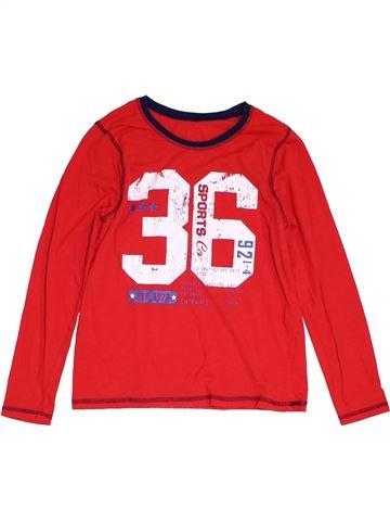T-shirt manches longues garçon GEORGE rouge 14 ans hiver #1303160_1