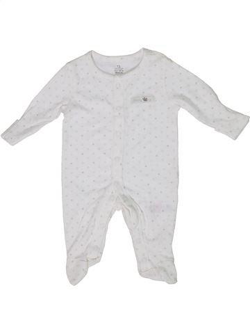 Pyjama 1 pièce fille PRIMARK blanc naissance été #1303325_1