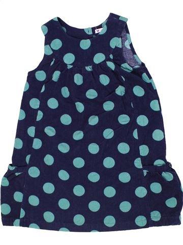 Vestido niña JOHN LEWIS azul 7 años invierno #1303463_1