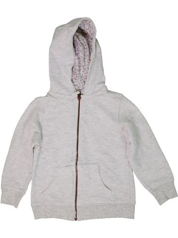 Sweat fille I LOVE GIRLSWEAR blanc 6 ans hiver #1303684_1