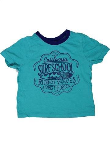Camiseta de manga corta niño GEORGE azul 2 años verano #1303706_1