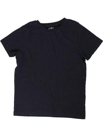 Camiseta de manga corta niño F&F negro 9 años verano #1303800_1