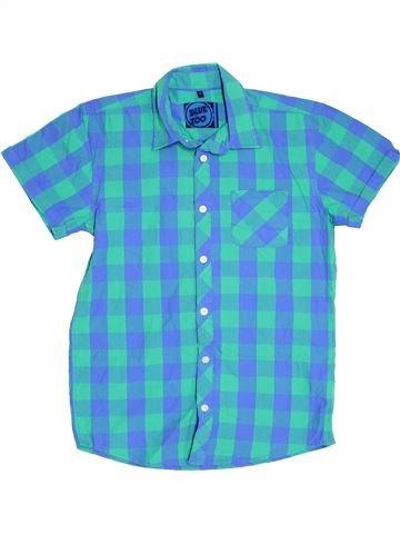 Chemise manches courtes garçon BLUEZOO bleu 14 ans été #1304004_1