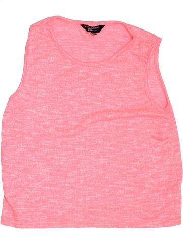T-shirt sans manches fille NEW LOOK rose 14 ans été #1304022_1