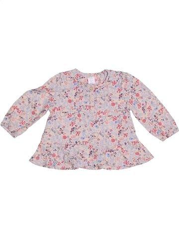 T-shirt manches longues fille MINI CLUB rose 9 mois hiver #1304235_1