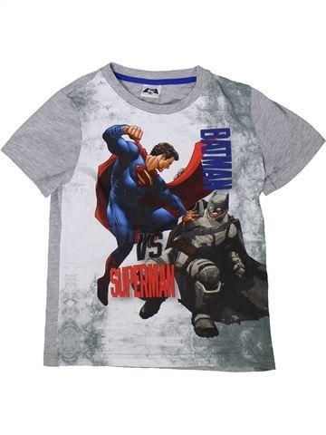 T-shirt manches courtes garçon SUPERS HÉROS gris 9 ans été #1304286_1