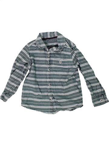 Camisa de manga larga niño NUTMEG azul 3 años invierno #1304428_1