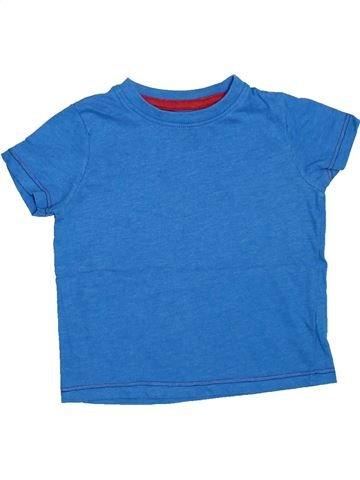 T-shirt manches courtes garçon DEMO bleu 18 mois été #1304539_1