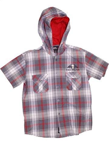 Chemise manches courtes garçon NO FEAR gris 13 ans été #1304554_1