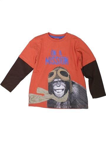 T-shirt manches longues garçon M&CO rouge 6 ans hiver #1304560_1