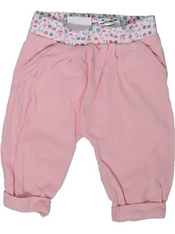 Pantalon fille F&F rose naissance été #1304593_1