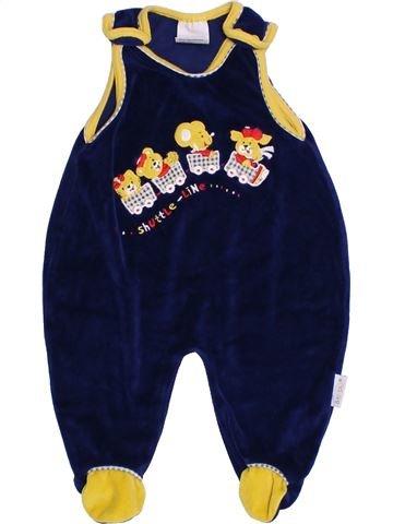 Pijama de 1 pieza niño BABYSANA amarillo 3 meses invierno #1304892_1