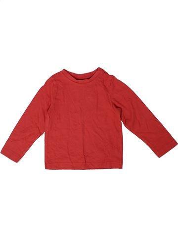 T-shirt manches longues garçon MOTHERCARE rouge 18 mois hiver #1305008_1