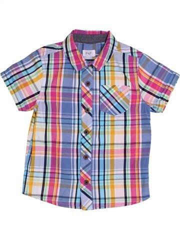 Camisa de manga corta niño F&F violeta 2 años verano #1305155_1